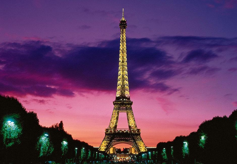 Eiffel Tower Paris Night France Wallpaper 1 Progreso