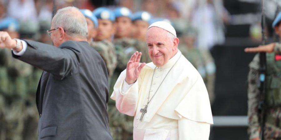El papa en Perú