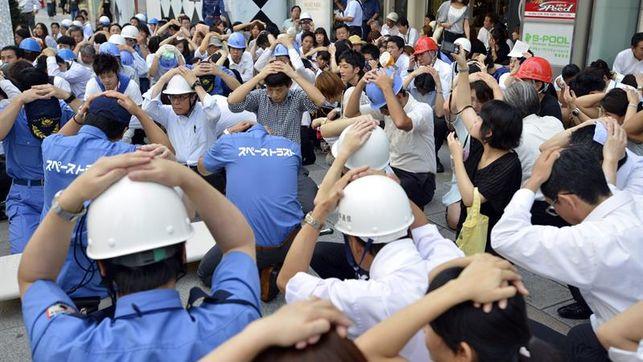 Japón simulacro