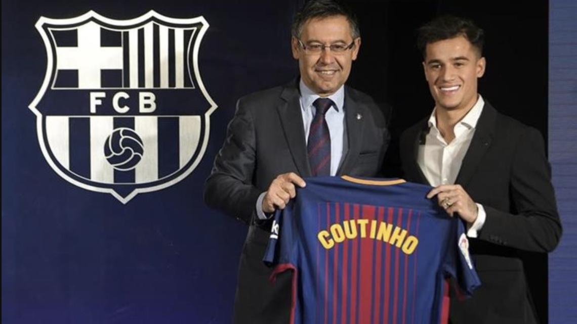 Philippe Coutinho en el Barcelona