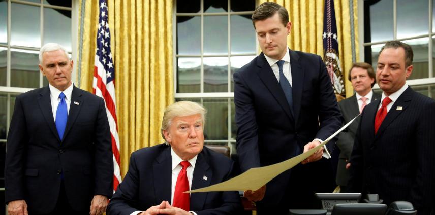 Asesor de Trump