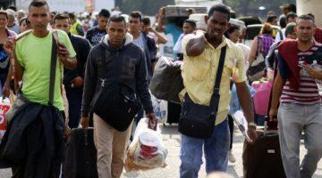 Venezolanos inmigrantes