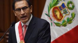 PERU-VIZCARRA-INAUGURATION