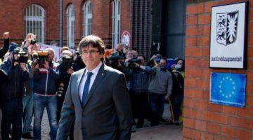 Puigdemont sale de prisión alemana