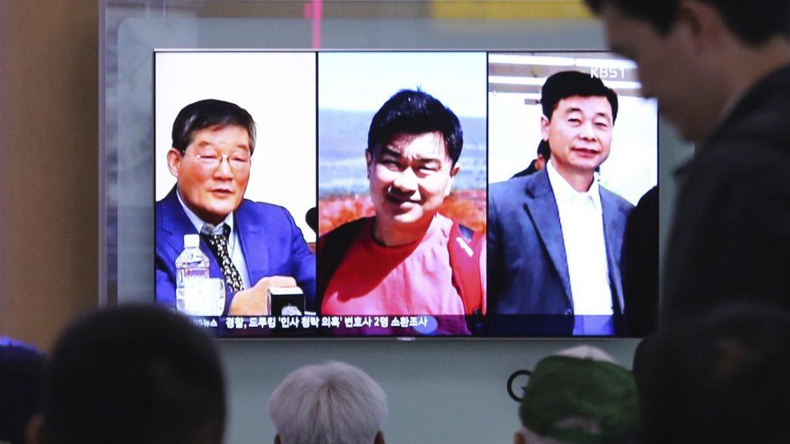 Estadounidenses presos en Corea