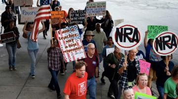 Protesta contra NRA