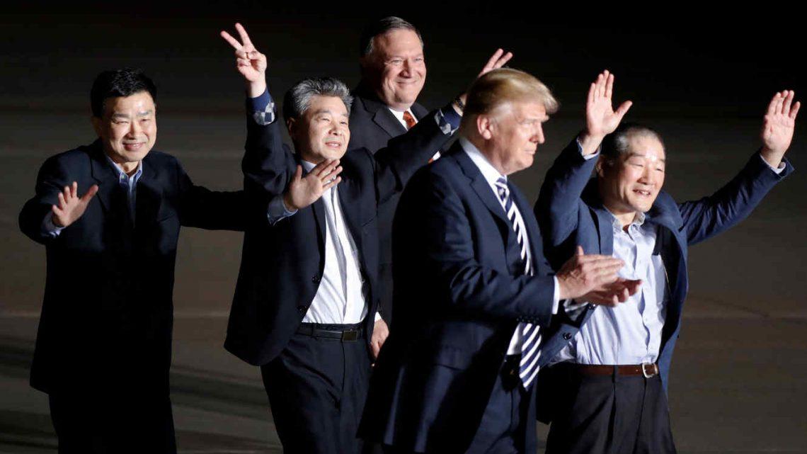 Liberación de Norcoreanos