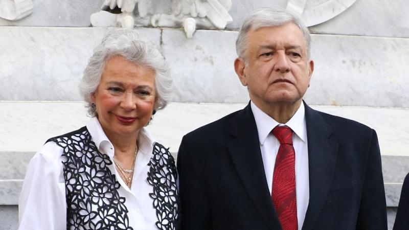 Olga Sánchez Cordero y Obrador