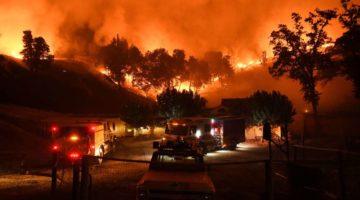 California fuego