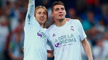 Kovacic y Modric