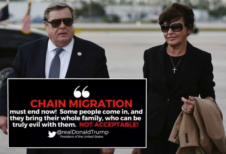 Padres de Melania Trump