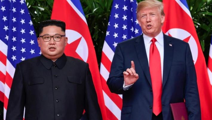 Kim-Jong-Un y Trump