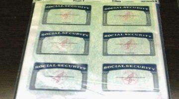 Social Security falso