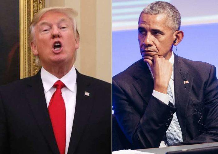 donald trump barack obama