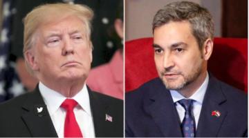 Trump y Mario Abdo