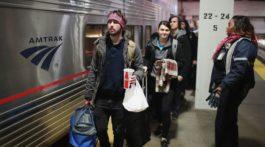 Terrible pesadilla vivieron pasajeros del Amtrak en Nueva York