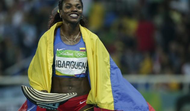 Caterine Ibargüen fue escogida por la IAAF