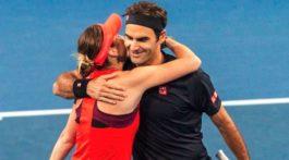 Belinda Bencic que incomodó a Roger Federer