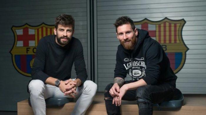 Messi y Piqué