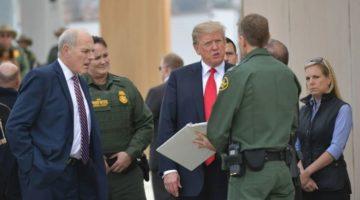 Visita de Trump a la frontera