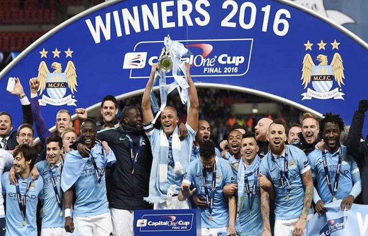 Manchester City campeón de la Capital One Cup