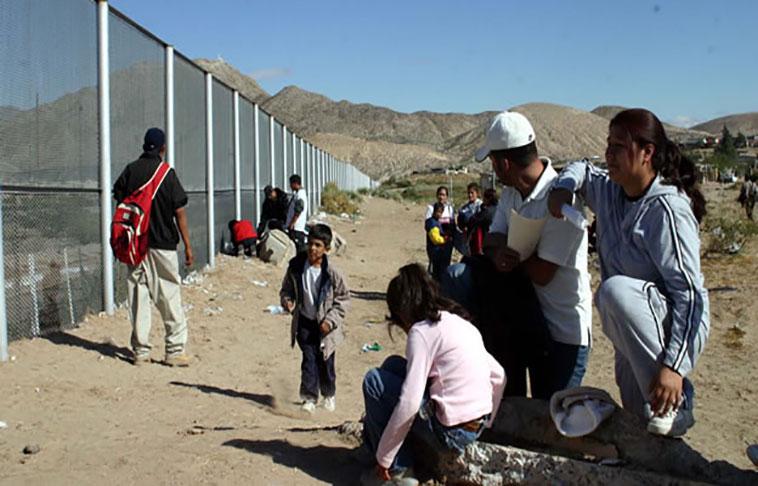 No se detiene flujo de migrantes en la frontera