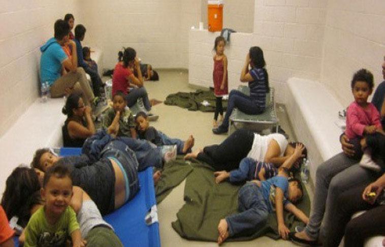 Más niños detenidos en frontera con México