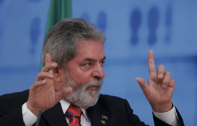 Interrogan al ex-presidente brasileño Lula da Silva
