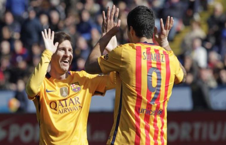 F.C. Barcelona gusta, gana, y golea