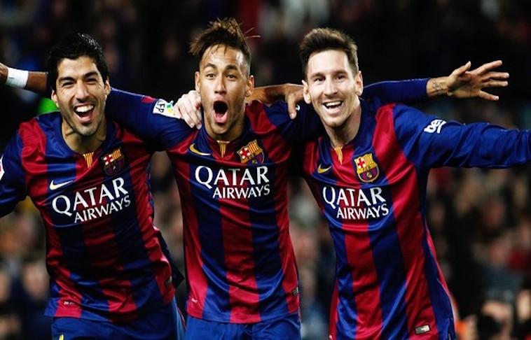 F.C. Barcelona gana con gran actuación de Messi