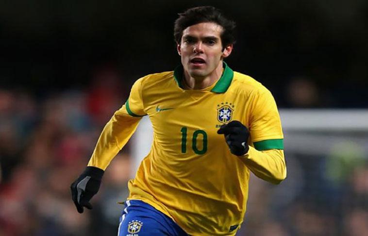 Kaká y Coutinho en lista de Brasil para medir a Uruguay y Paraguay