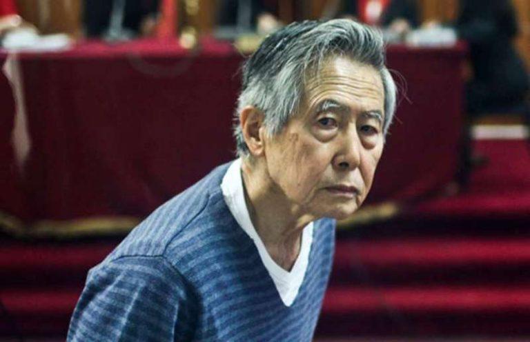 Ordenan que Fujimori regrese a prisión