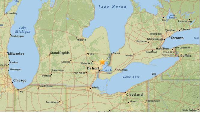 Cae un meteorito cerca de Detroit