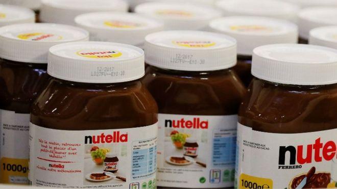 Franceses luchan por una Nutella