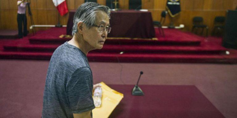 Ordenan proceso a Fujimori por matanza de 1992