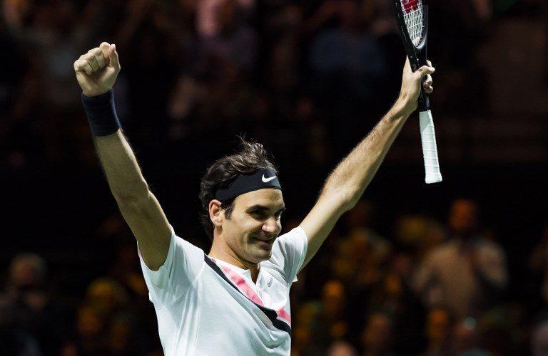 Roger Federer premiado al Mejor Deportista del Año