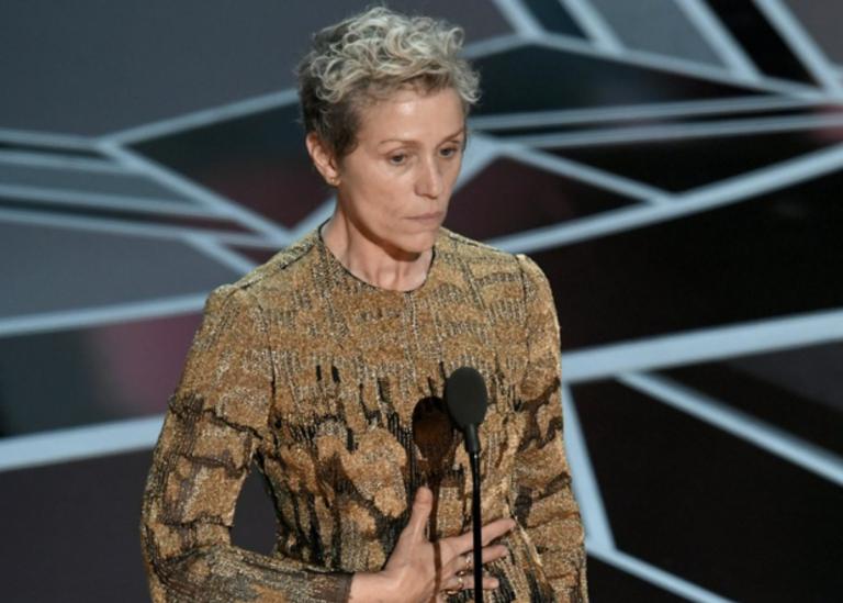 Roban el Oscar a Frances McDormand