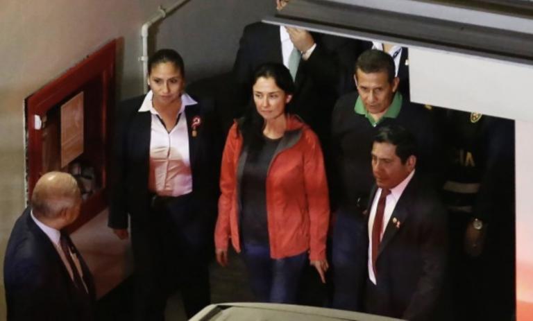 Revocan prisión preventiva contra los Humala