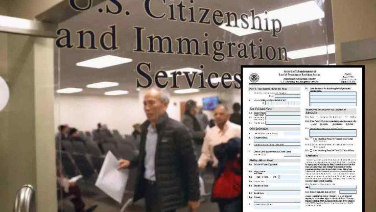 Senadores piden explicaciones sobre planes de USCIS
