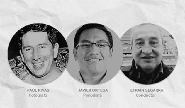 A Ecuador, parten cuerpos de periodistas asesinados