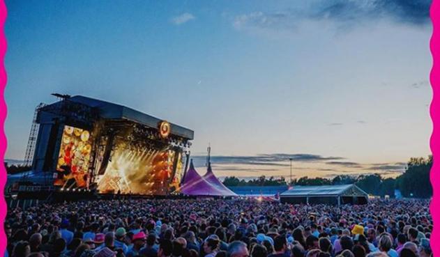 Festival Pinkpop en Holanda escena de terror