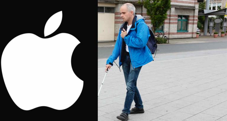 """Apple ayudará a ciegos con """"chaqueta inteligente"""""""