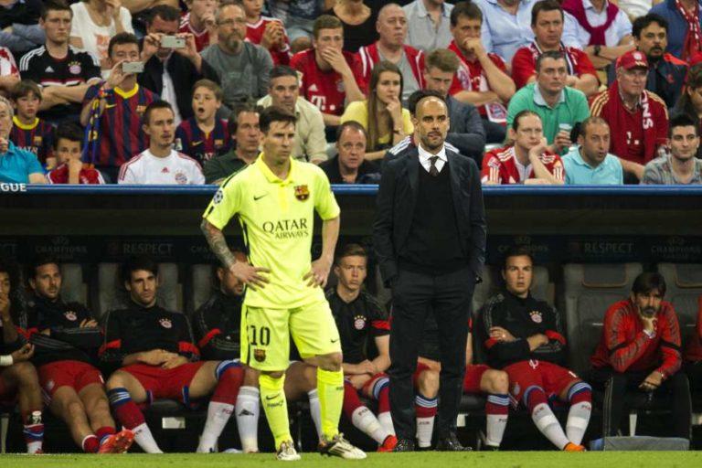 Pep Guardiola sería técnico de Messi otra vez