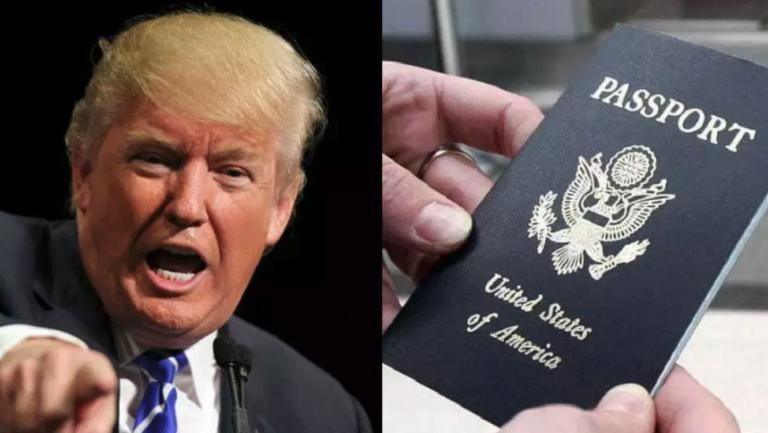 Trump está revocando pasaportes