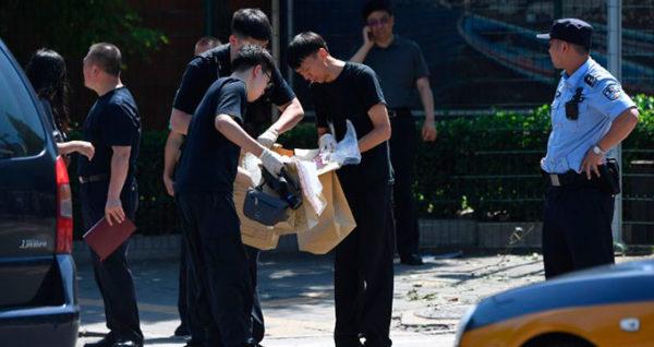 Explosión de dispositivo en embajada de EE.UU de Pekín
