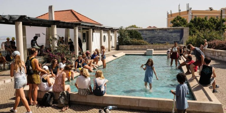 Intensa ola de calor en Europa