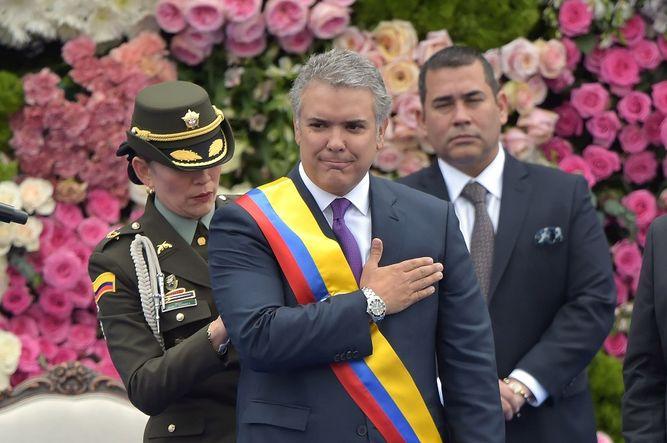 Colombia amanece con nuevo presidente