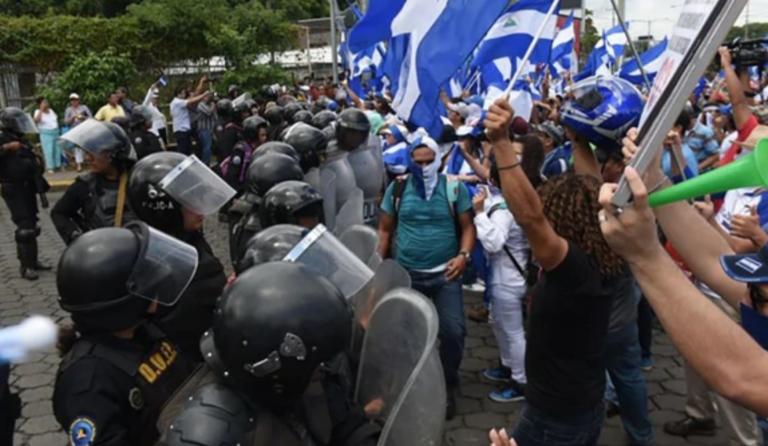 """Reprimen """"Marcha de las Banderas"""""""