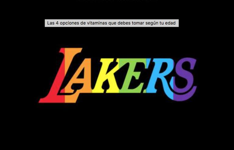 Lakers tendrán noche de orgullo Gay