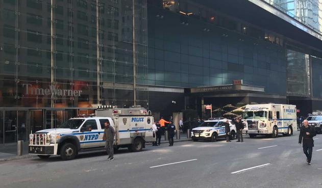 Evacúan oficinas de CNN por paquete sospechoso